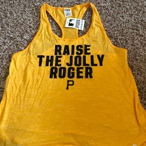 NWT Victoria's Secret Pink Pittsburgh Pirates Tank